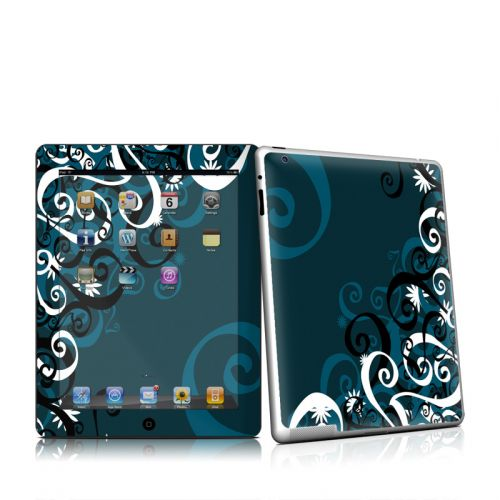 Midnight Garden iPad 2 Skin