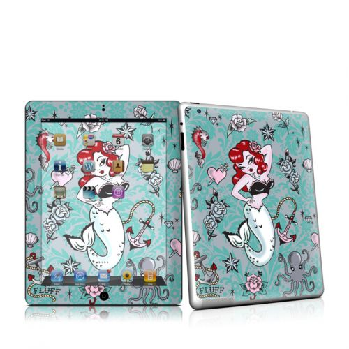 Molly Mermaid iPad 2 Skin