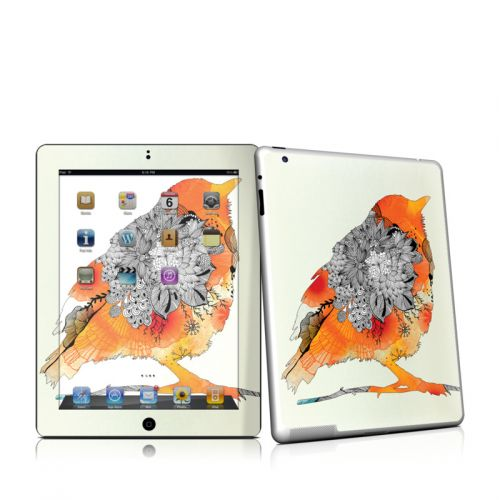 Orange Bird iPad 2 Skin