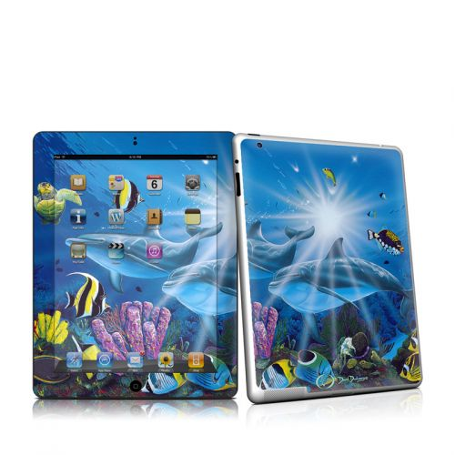 Ocean Friends iPad 2 Skin