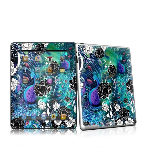 Peacock Garden iPad 2nd Gen Skin
