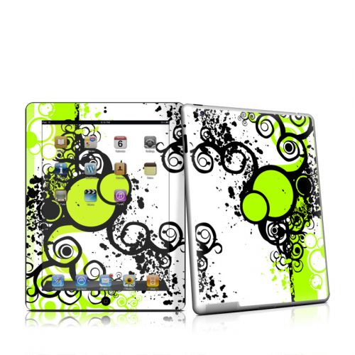 Simply Green iPad 2 Skin
