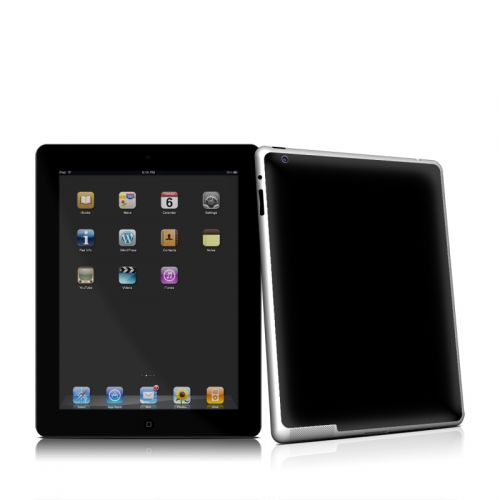 Solid State Black iPad 2 Skin