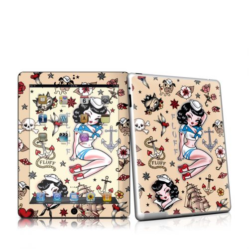 Suzy Sailor iPad 2 Skin