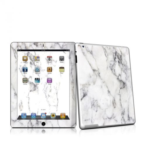 White Marble iPad 2nd Gen Skin