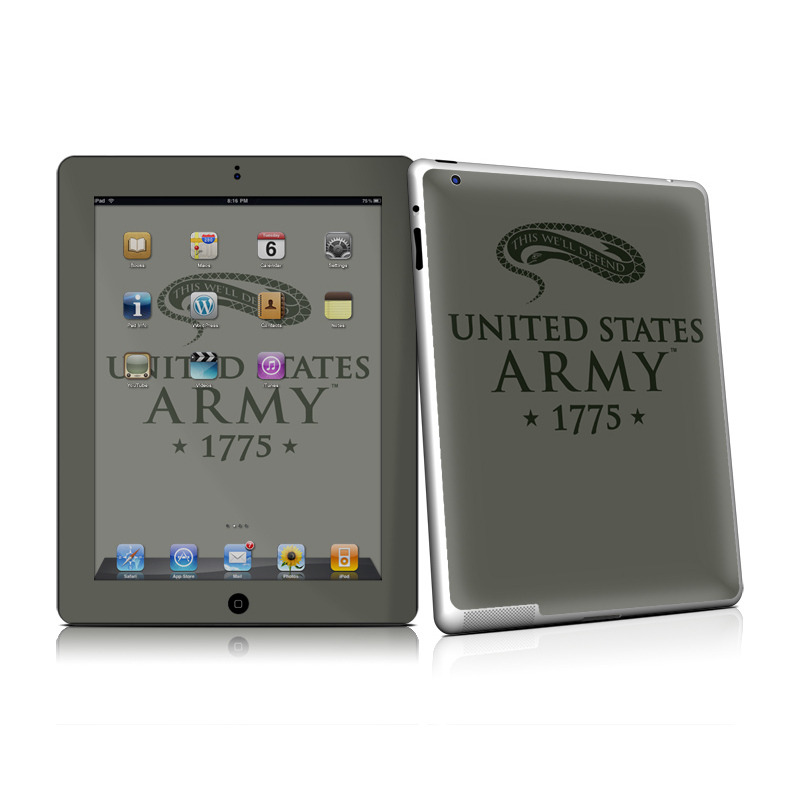 1775 Apple iPad 2 Skin
