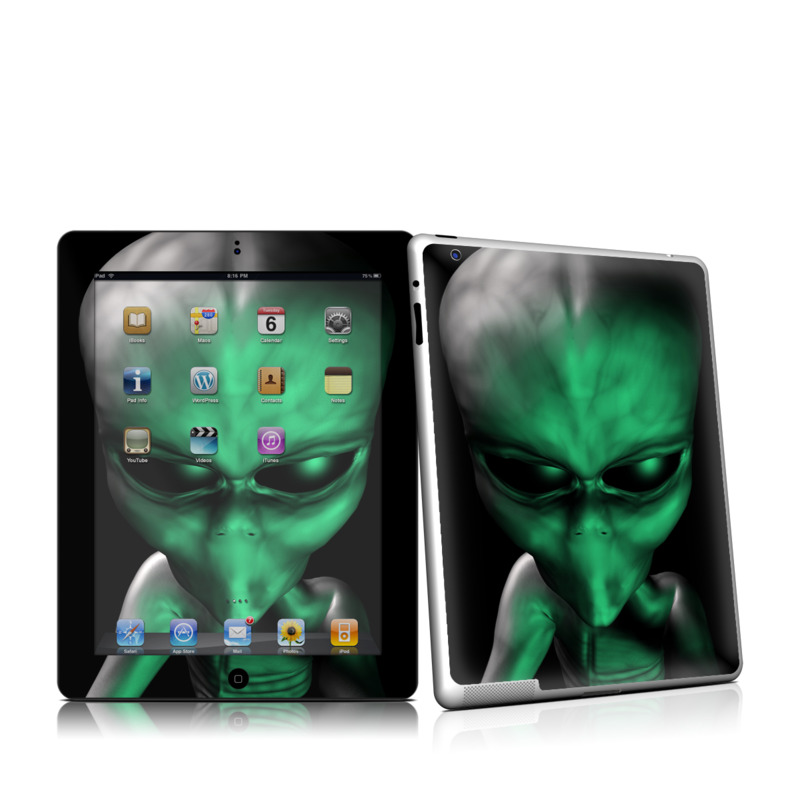 Abduction iPad 2 Skin