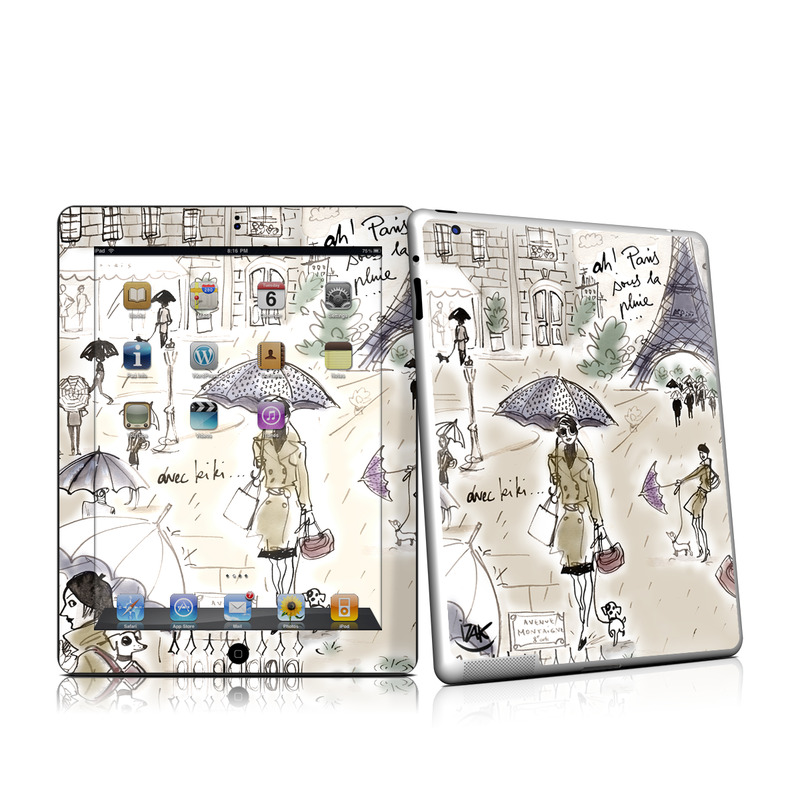 Ah Paris iPad 2nd Gen Skin