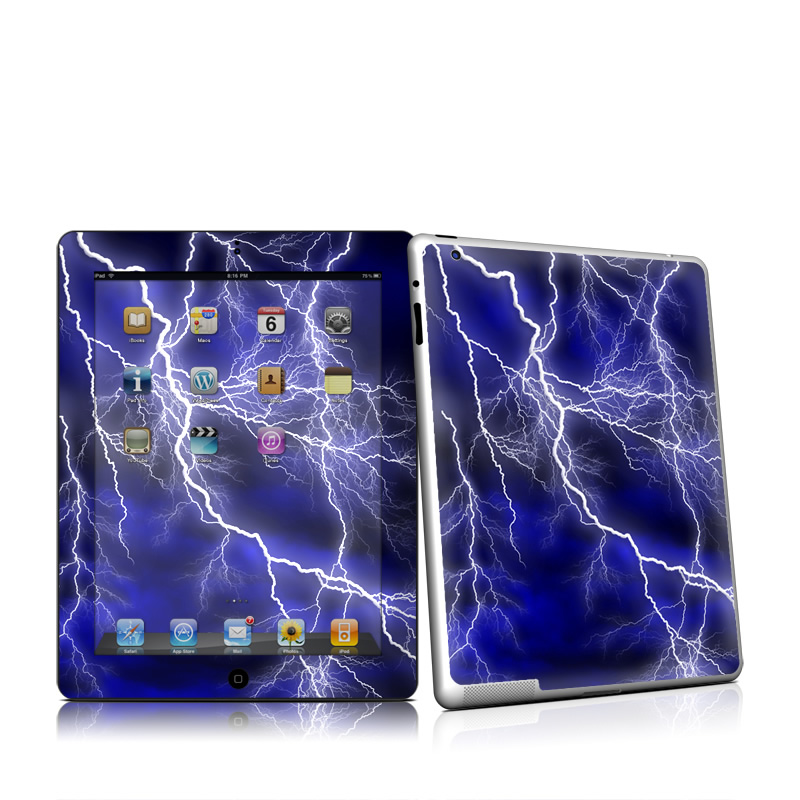 Apocalypse Blue Apple iPad 2 Skin
