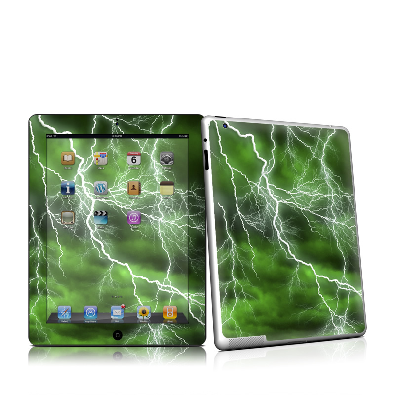 Apocalypse Green Apple iPad 2 Skin