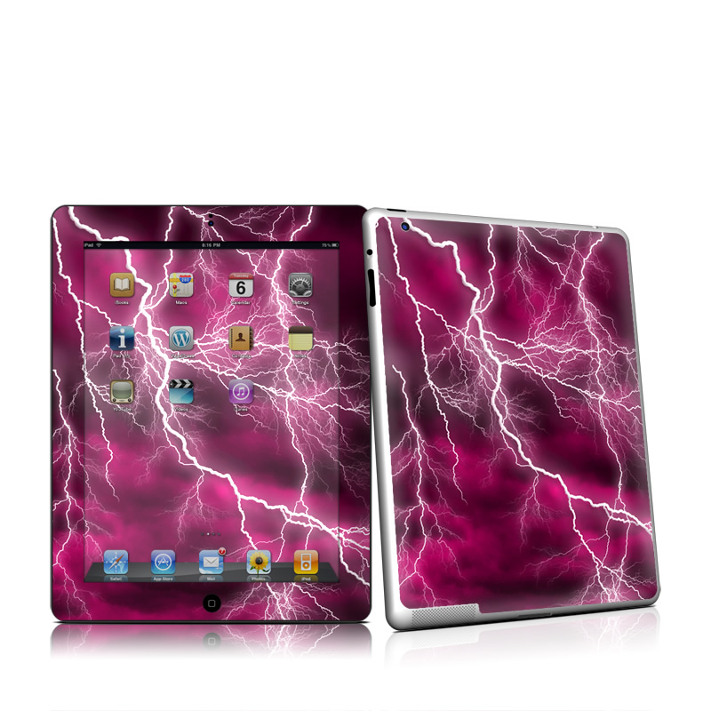Apocalypse Pink Apple iPad 2 Skin