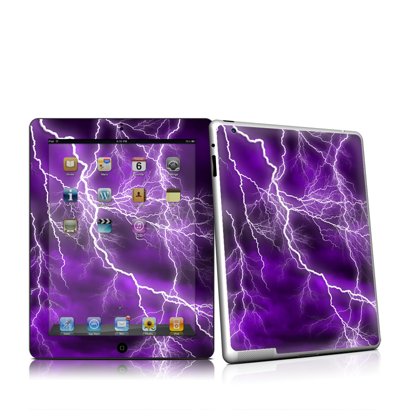 Apocalypse Violet Apple iPad 2 Skin