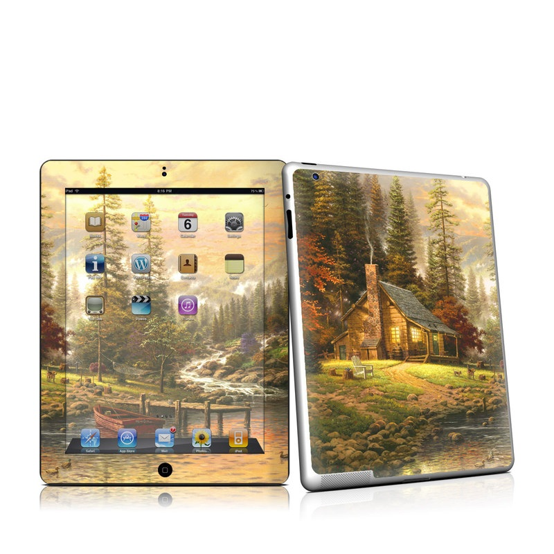 A Peaceful Retreat iPad 2nd Gen Skin