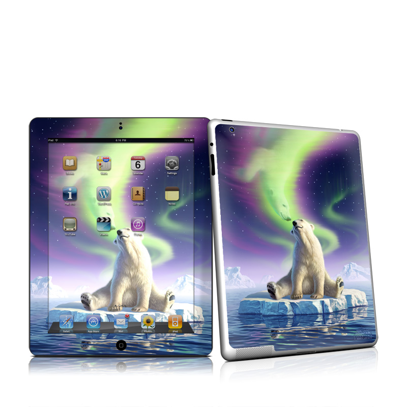 Arctic Kiss Apple iPad 2 Skin