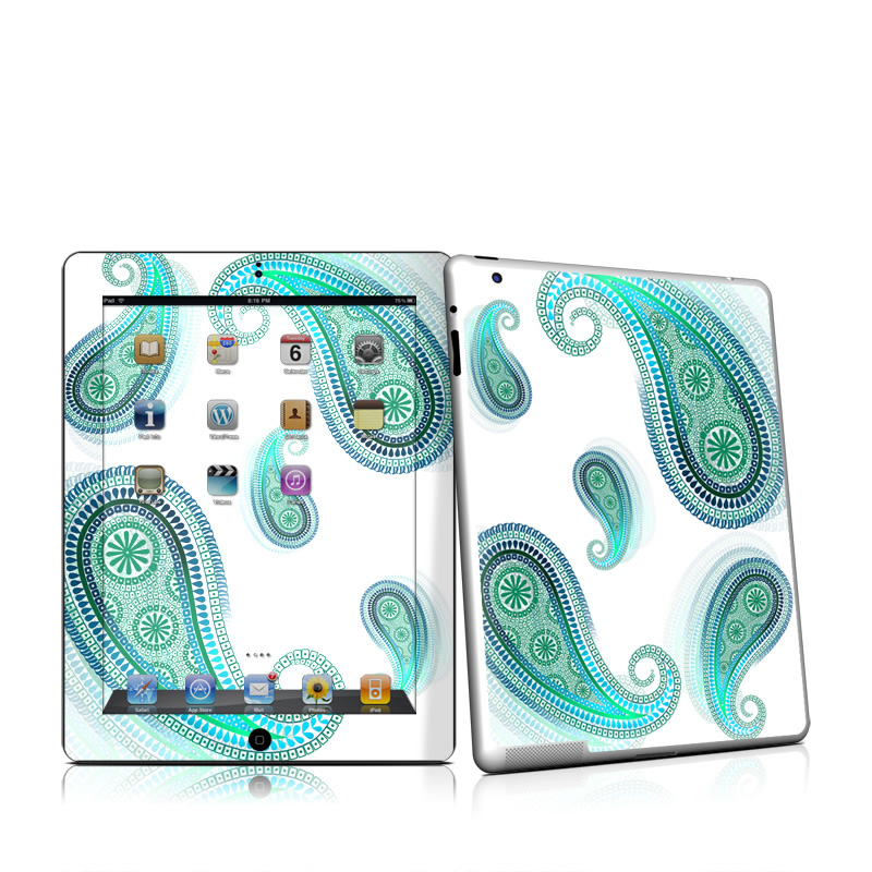 Azure Apple iPad 2 Skin