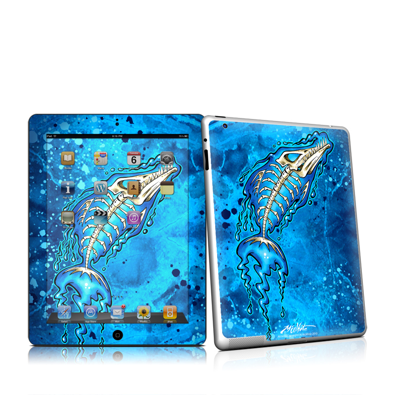 Barracuda Bones Apple iPad 2 Skin