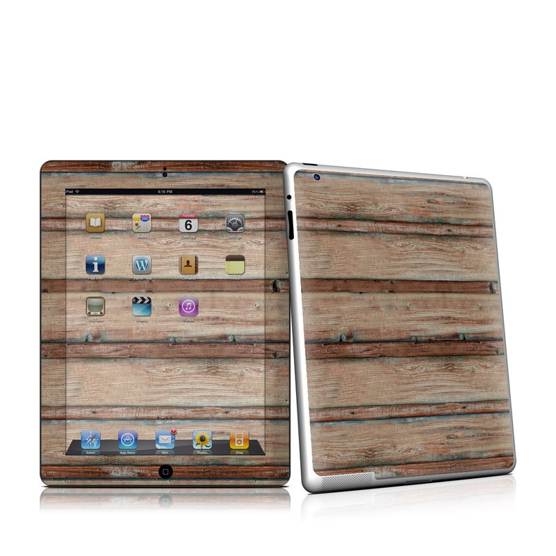Boardwalk Wood iPad 2nd Gen Skin