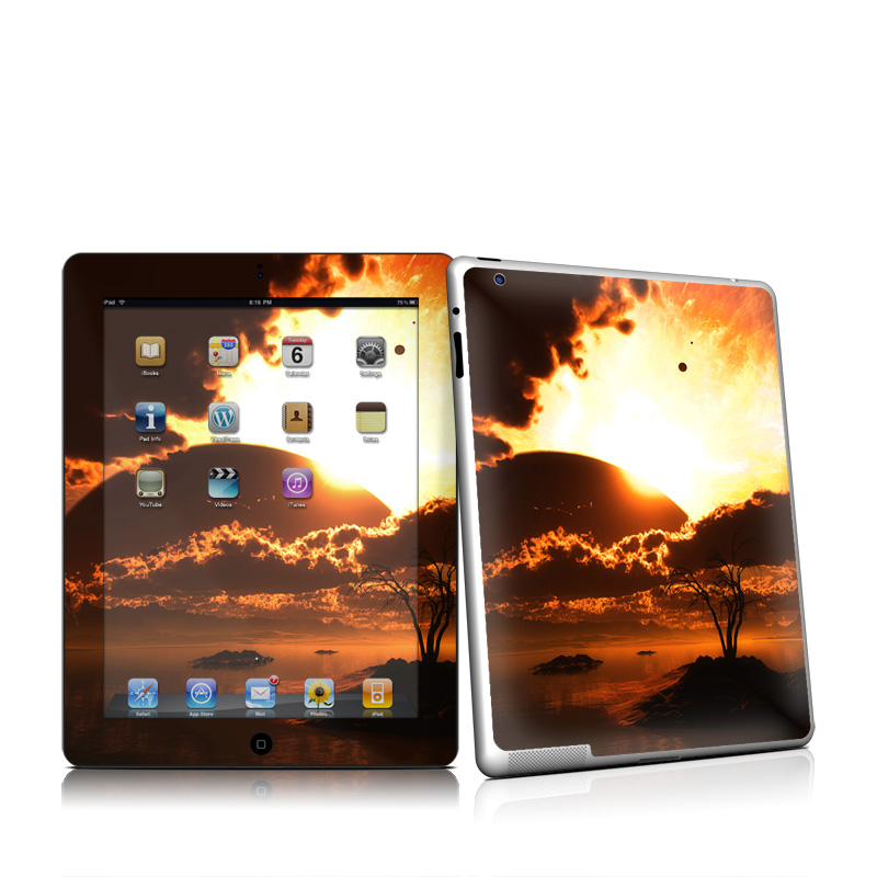 Beginning Of The End Apple iPad 2 Skin