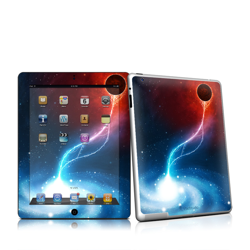 Black Hole Apple iPad 2 Skin