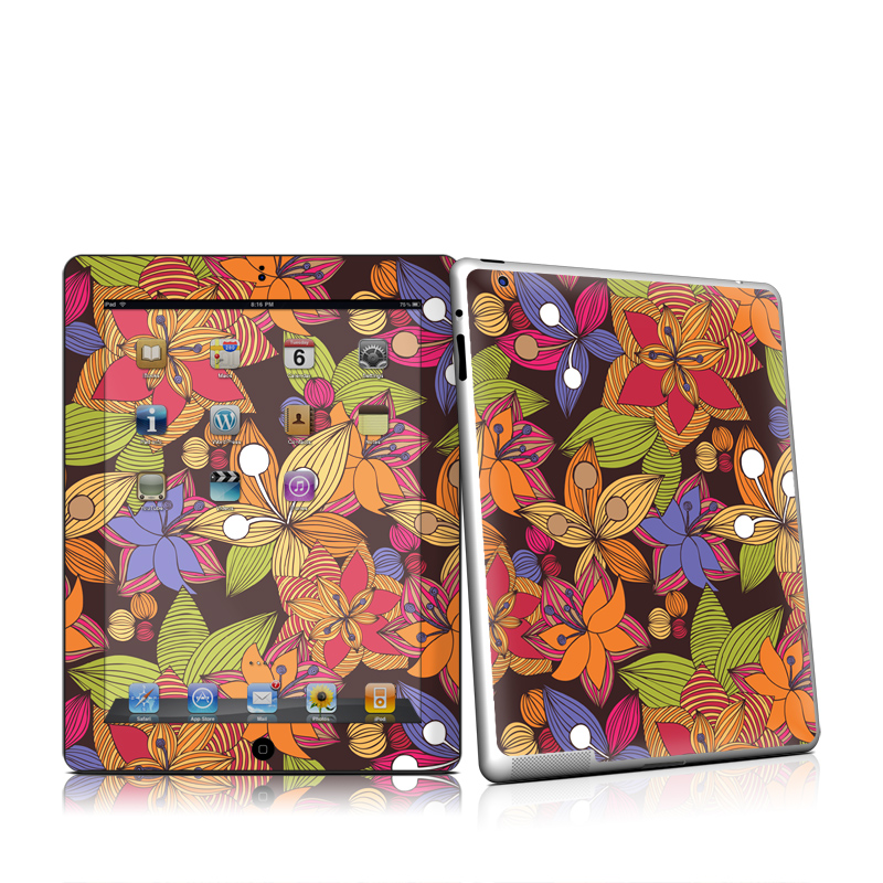 Blooming Apple iPad 2 Skin