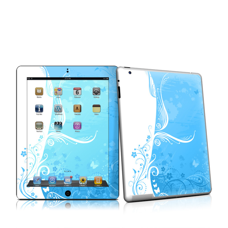 Blue Crush Apple iPad 2 Skin
