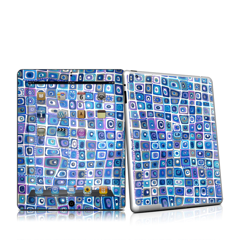 Blue Monday iPad 2nd Gen Skin