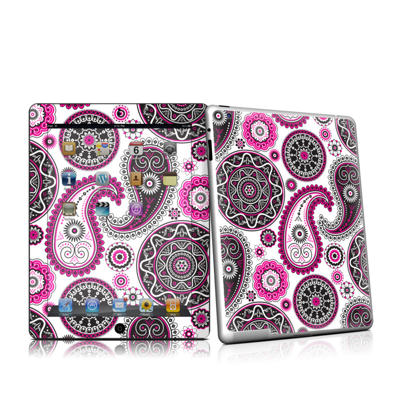 Boho Girl Paisley iPad 2nd Gen Skin