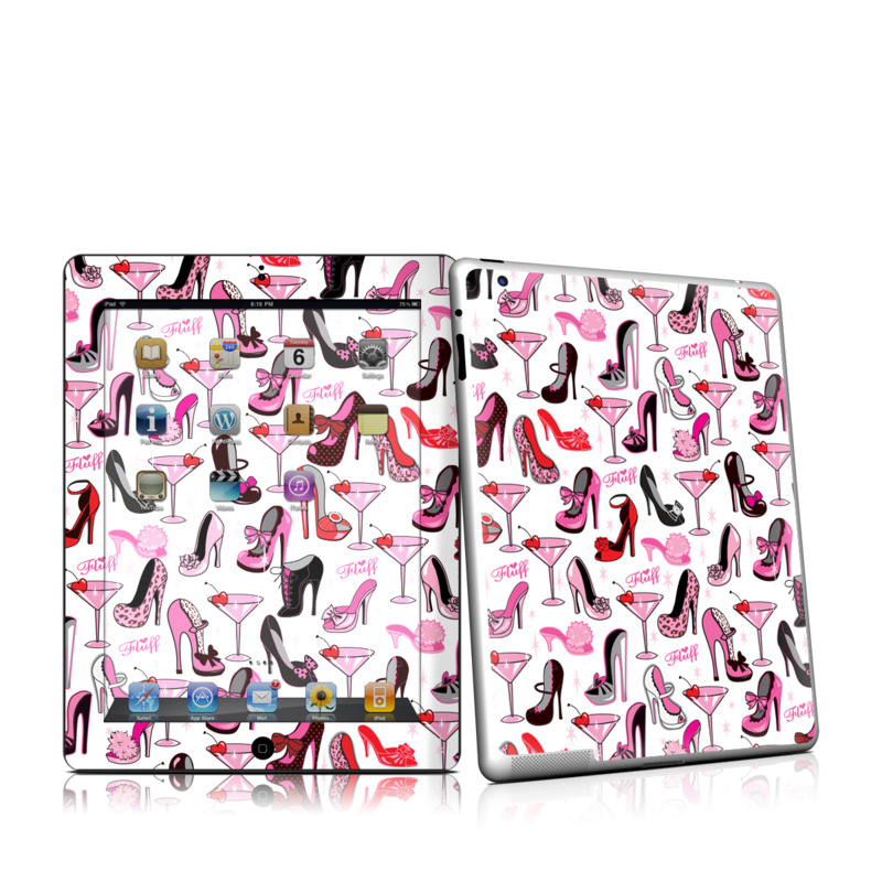 Burly Q Shoes iPad 2nd Gen Skin