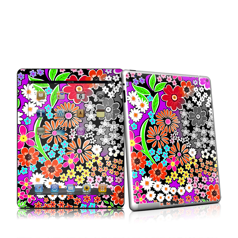 A Burst of Color Apple iPad 2 Skin