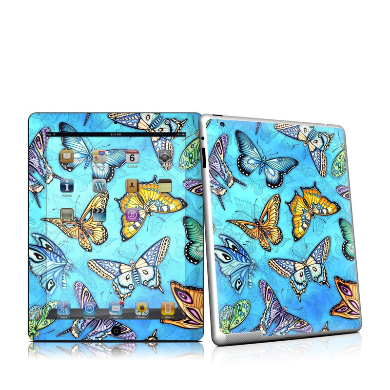 Butterflies iPad 2nd Gen Skin