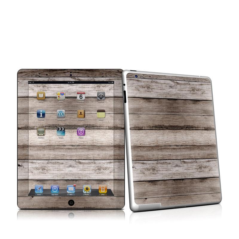 Barn Wood iPad 2nd Gen Skin