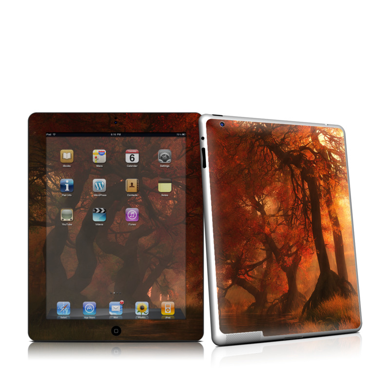 Canopy Creek Autumn Apple iPad 2 Skin