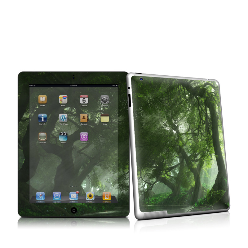 Canopy Creek Spring Apple iPad 2 Skin
