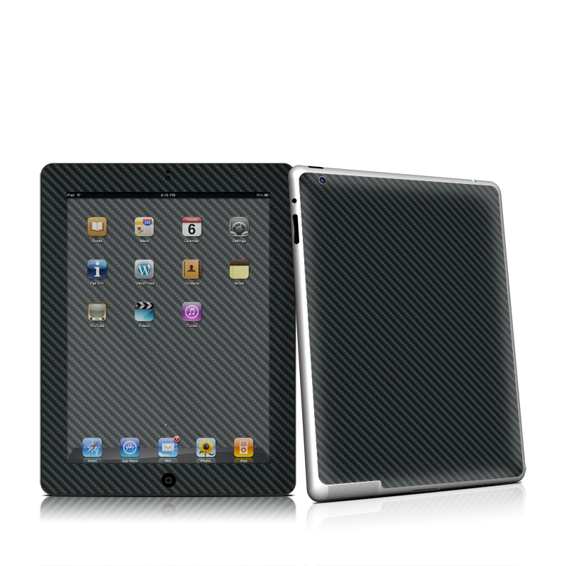 Carbon Apple iPad 2 Skin