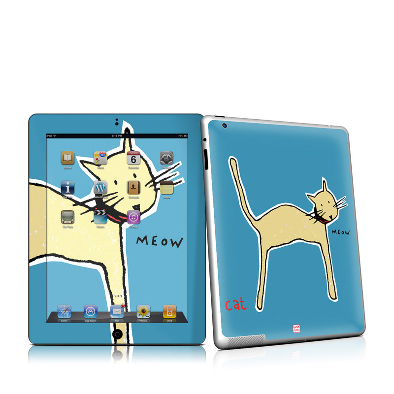 Cat iPad 2nd Gen Skin