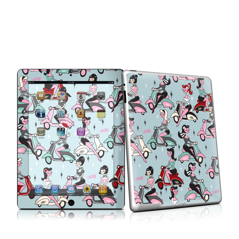 Ciao Fluff Apple iPad 2 Skin
