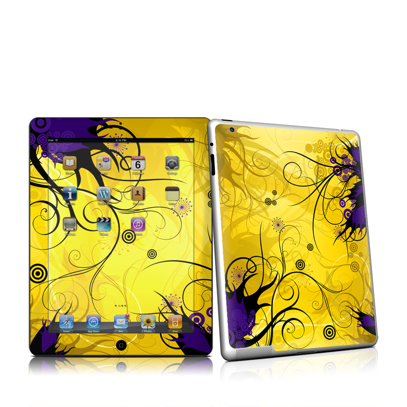 Chaotic Land iPad 2 Skin