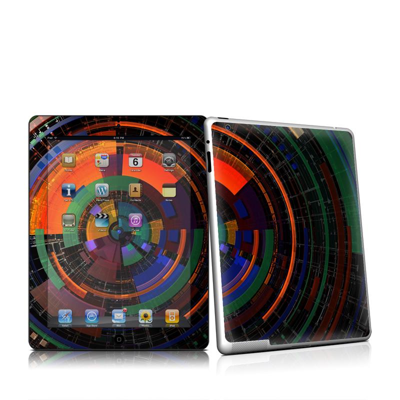 Color Wheel iPad 2nd Gen Skin