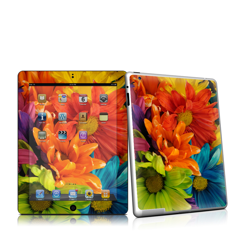 Colours iPad 2nd Gen Skin