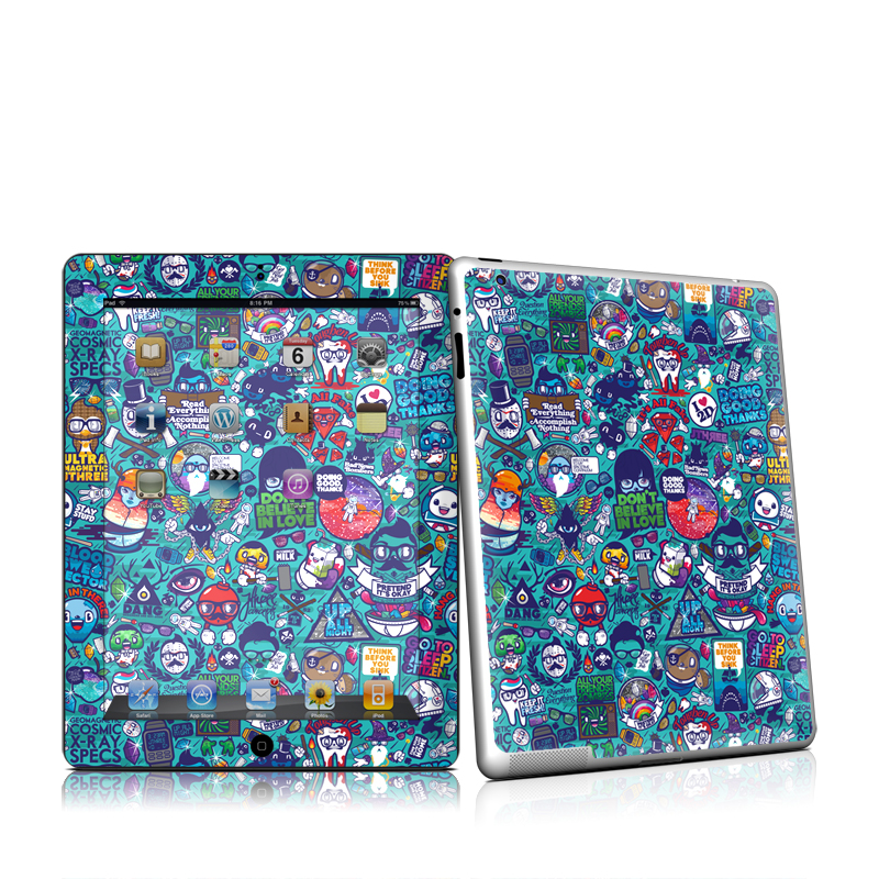 Cosmic Ray iPad 2nd Gen Skin
