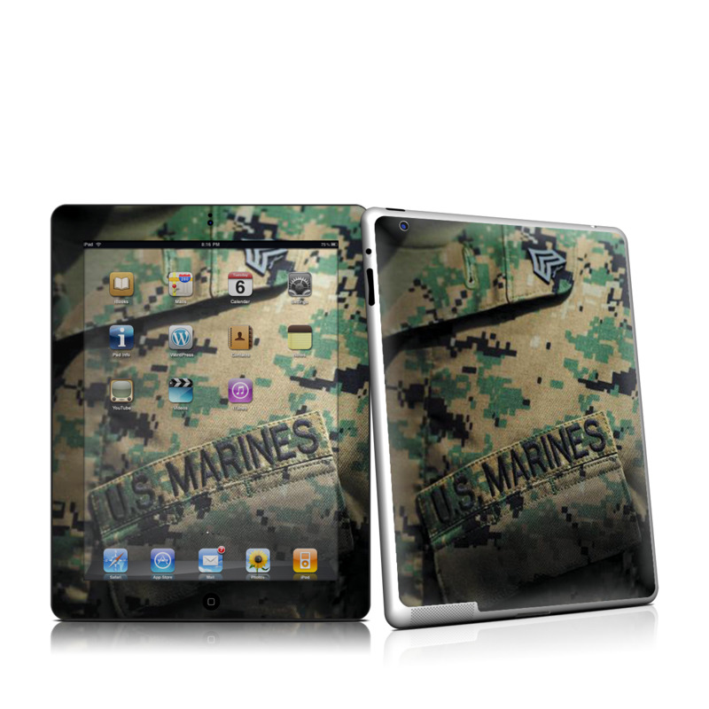 Courage Apple iPad 2 Skin