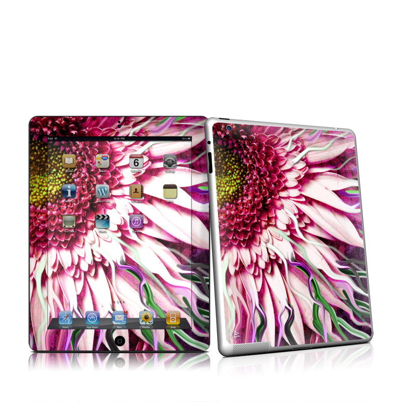 Crazy Daisy Apple iPad 2 Skin
