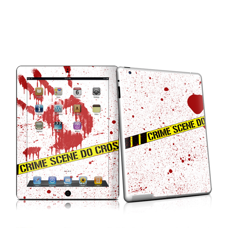 Crime Scene Revisited Apple iPad 2 Skin