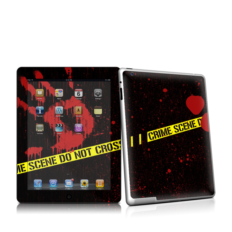 Crime Scene iPad 2nd Gen Skin