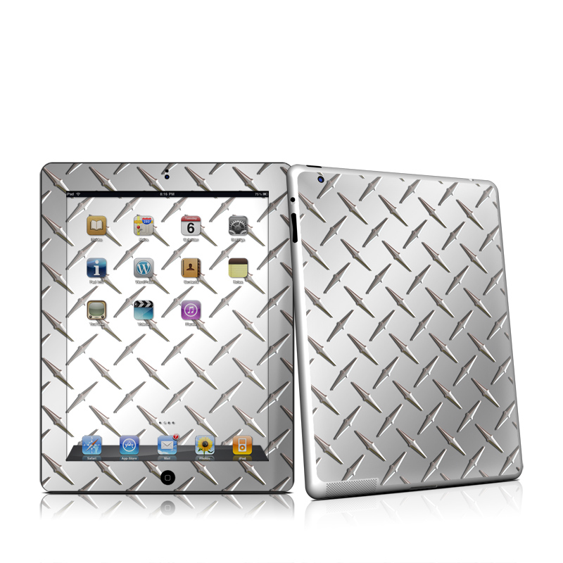 Diamond Plate Apple iPad 2 Skin