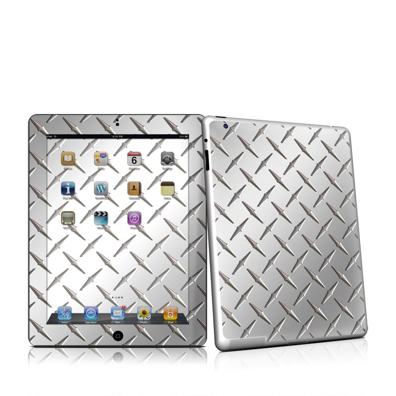 Diamond Plate Apple iPad 2 Skin