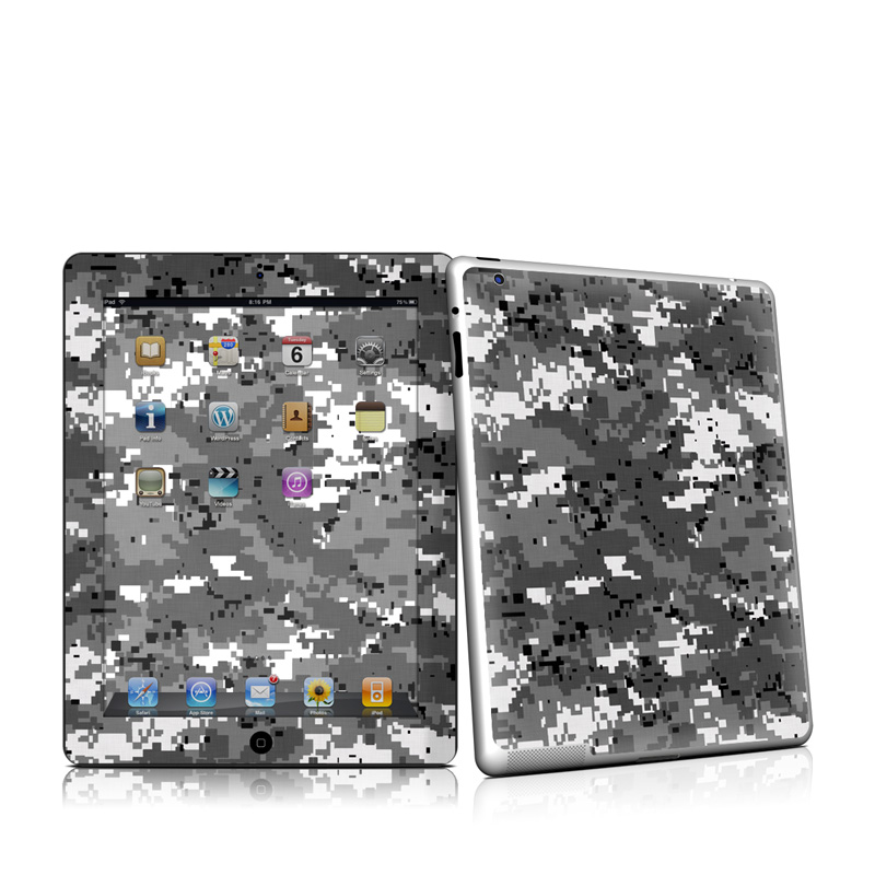 Digital Urban Camo iPad 2nd Gen Skin