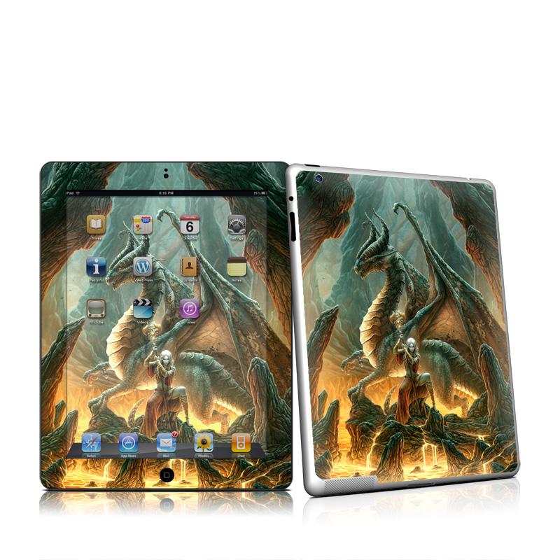 Dragon Mage iPad 2nd Gen Skin