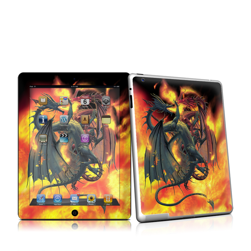 Dragon Wars iPad 2 Skin