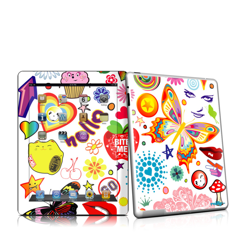Eye Candy iPad 2 Skin
